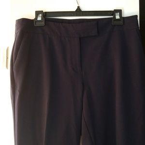 Navy Anne Klein Dress Pants